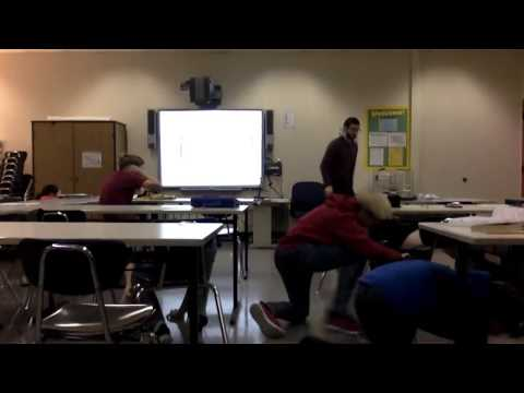 Earthquake Classroom Video