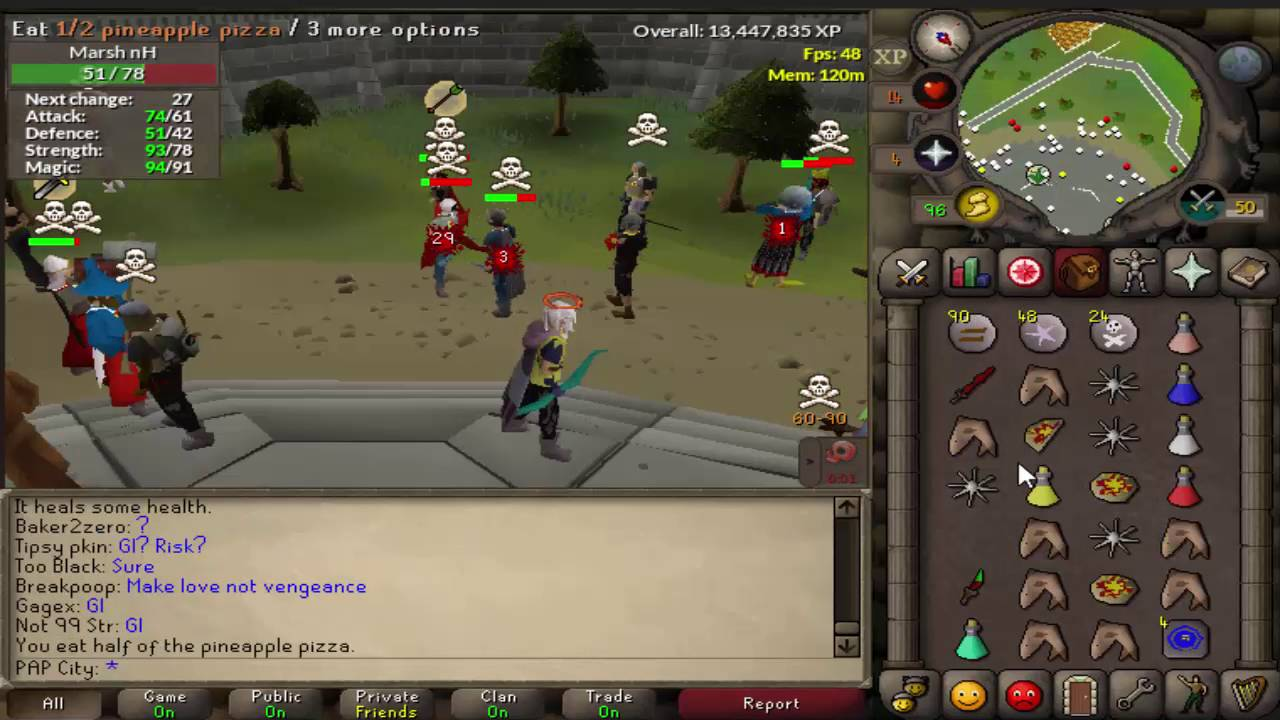 Getting a fire cape for my berserker 62 ranged 45 defence (osrs.