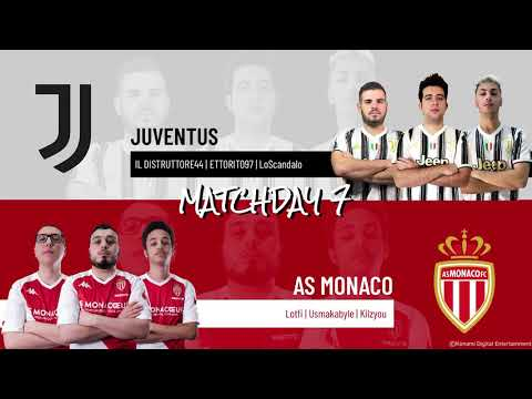 Juventus vs. AS Monaco | Highlights Matchday 7 eFootball.Pro IQONIQ 2020-2021