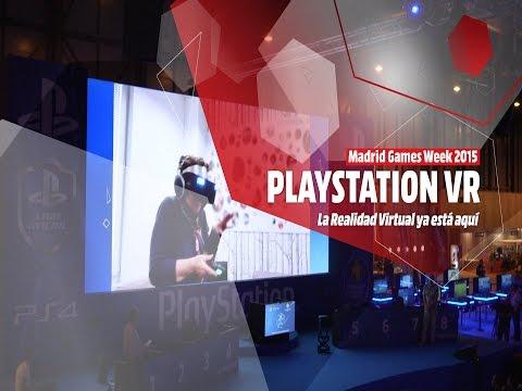 PLAYSTATION VR: Primeras impresiones en la MGW 2015