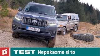 TOYOTA Land Cruiser 2021 2.8 D-4D - Offroad TEST - Garáž.TV