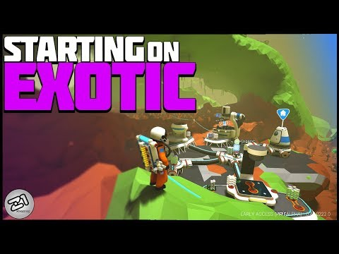 Starting on EXOTIC ! Best Start Ever? Lets Play Astroneer Gameplay | Z1 Gaming
