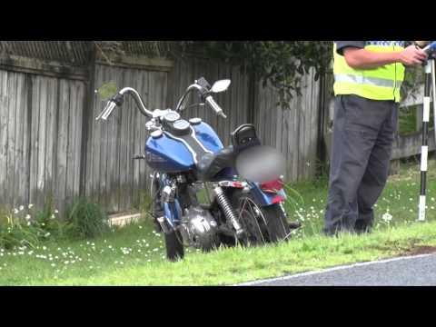 Fatal car vs motorbike Henderson Valley   Auckland