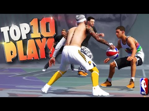 Top 10 Dunks, Ankle Breakers & Trick Shots - NBA 2K18 Highlights