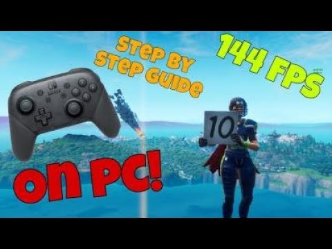 how-to-use-a-switch-pro-controller-on-pc-fortnite!