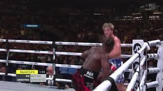 Ksi knocks down Logan Paul