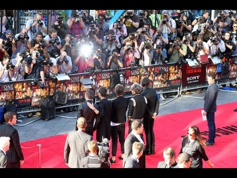 "One Direction ""This Is US"" London Premiere Part 1"