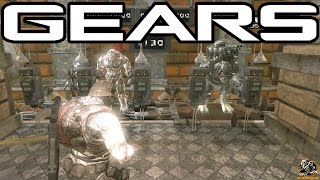 Gears of War Beast Mode 2.0 Gameplay! (Gears of War PC Mods)