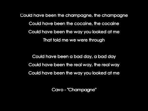"[HD] Cavo - ""Champagne"" [AUDIO+LYRICS]"