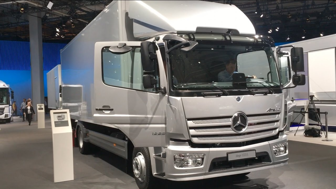 Super Mercedes Benz Atego 1223 L 2016 In detail review walkaround FI93