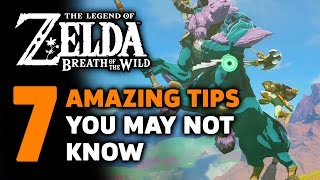 7 More Amazing Things I Wish I Knew In Zelda: Breath Of The Wild