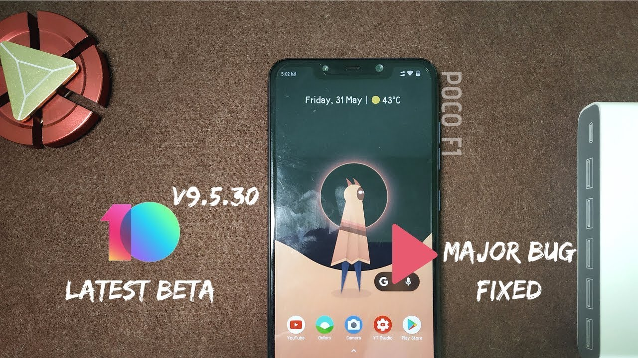 miui 10 9 5 30 beta update for poco f1 || complete review ||