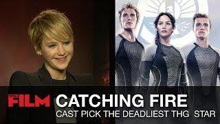 Catching Fire Cast Pick Deadliest Hunger Games Star