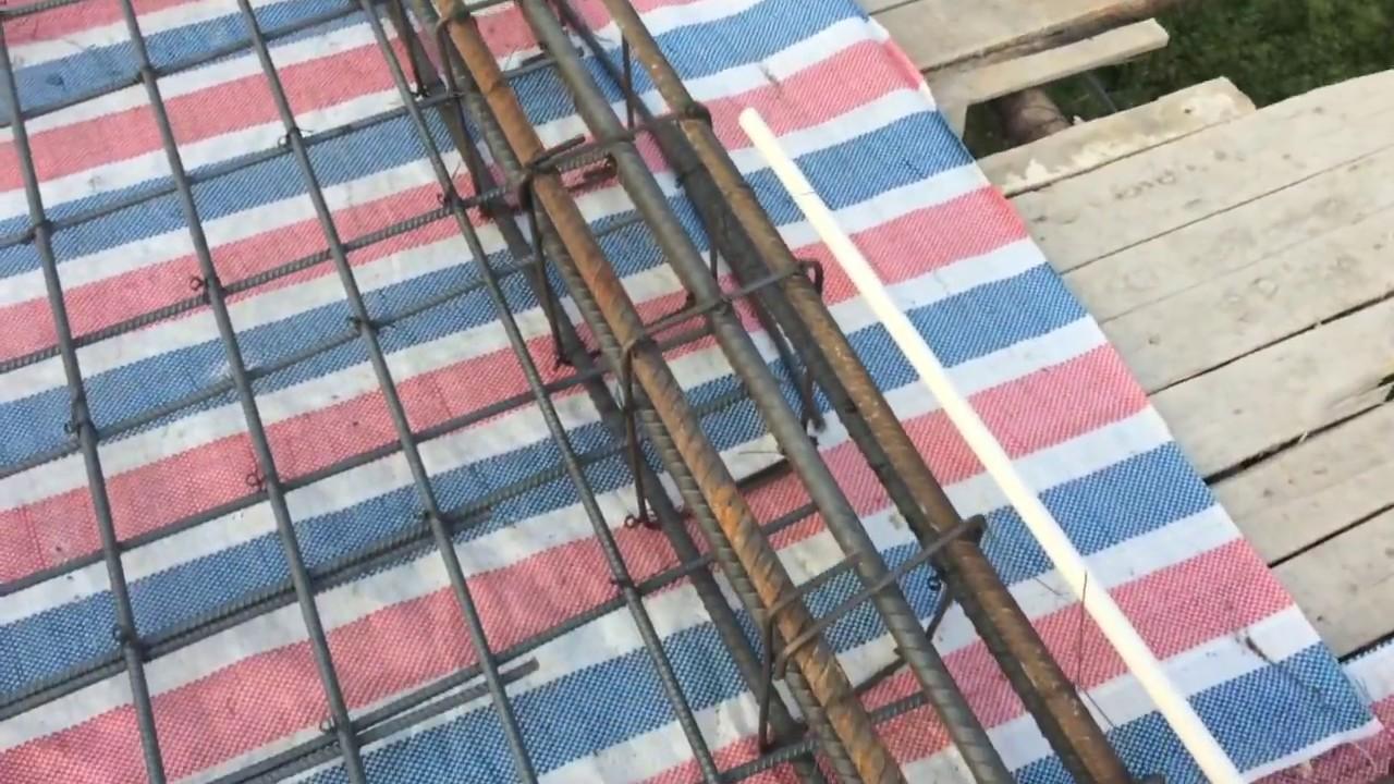 Kết cấu thép dầm, sàn mái tầng 2