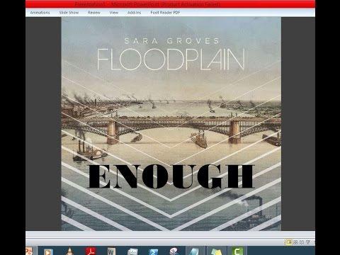 Sara Groves - Enough (Lyrics)