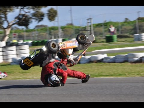 Go kart crash compilation 2