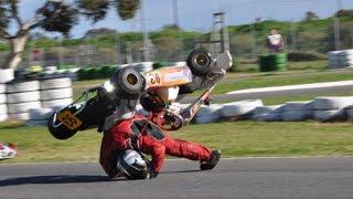 Go kart crash compilation 2(, 2015-01-11T09:45:48.000Z)