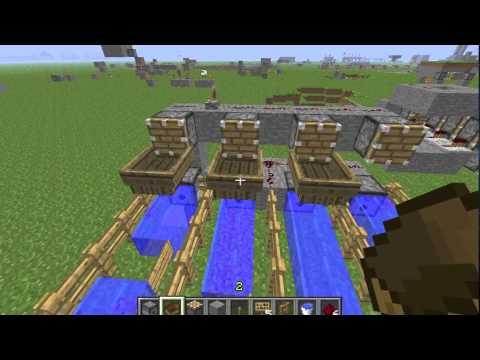 Minecraft: Infinitely Long Horizontal Water Item Carrier ...