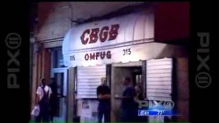 [VIDEO] (ANCHOR) The End For Legendary New York City Nightclub CBGB - PETER THORNE