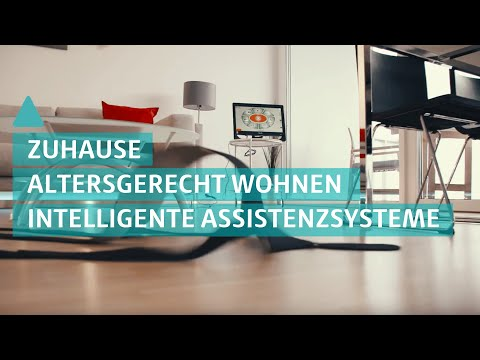 Sicherheit im Alter: Intelligente Assistenzsysteme