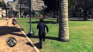 L.A. Noire 100% Walkthrough Part 70: The Quarter Moon Murders - Pershing Square HD