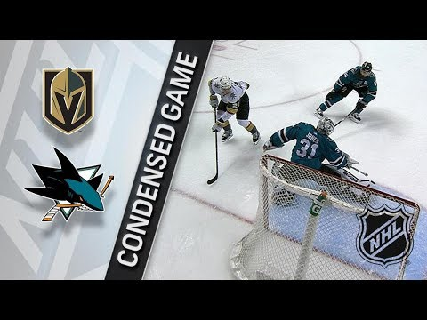 Vegas Golden Knights vs San Jose Sharks – Mar. 22, 2018 | Game Highlights | NHL 2017/18. Обзор