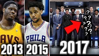The Biggest Bust From The Last 5 NBA Drafts