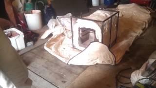 Утепление муфельной печи