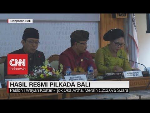 Hasil Resmi Pilkada Bali