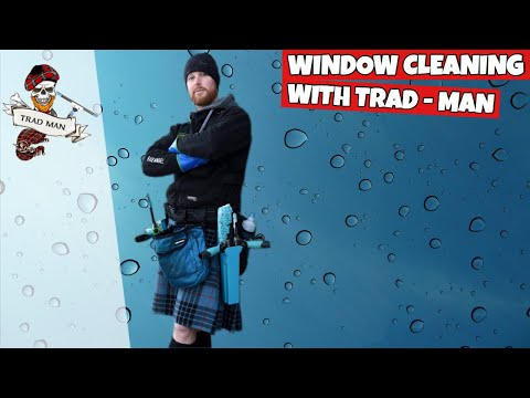 Window Cleaning With Trad-Man