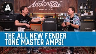 Fender Tone Master Amps - Digital Versions Of Real Tube Amps - Can You Spot Which is Which??