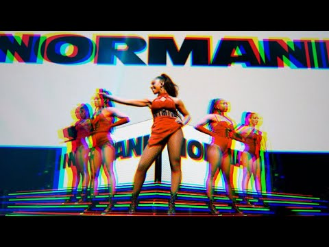 """Normani Performs """"Motivation"""" at The Prudential Center raw video"""