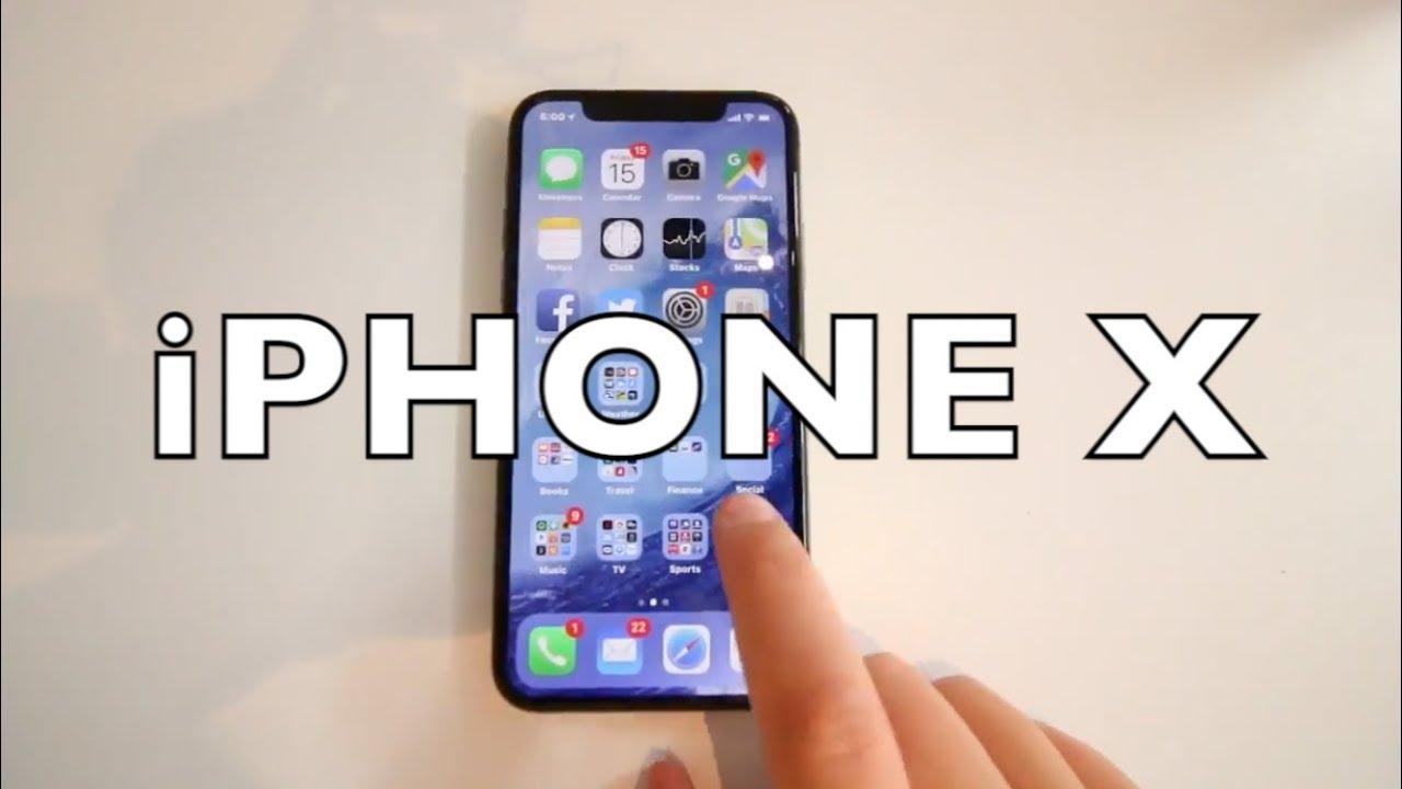 Review iPhone X antes de su lanzamiento.