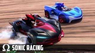 MARIO KART, BUT WITH SONIC! | Team Sonic Racing w/ H2O Delirious, Cartoonz, Squirrel