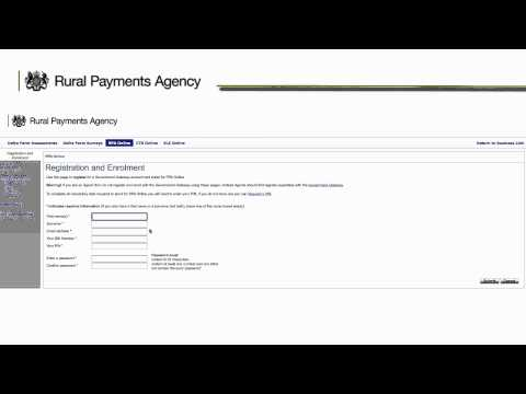 How to Register for the Government Gateway and log into SPS Online