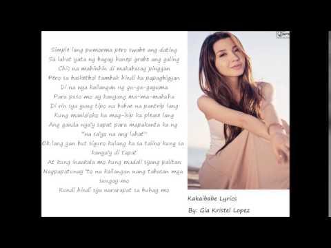 Kakaibabe - Donnalyn Bartolome (Lyrics)