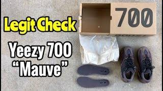 """Yeezy 700 BOOST """"Mauve"""" legit check"""