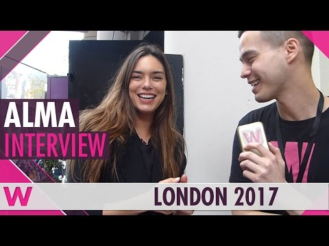 Alma (France 2017) Interview | London Eurovision Party 2017