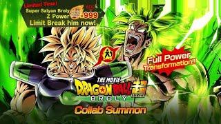 7000+ CRONO CRYSTALS SUMMONS! Dragon Ball Super Broly Collab Summons: Dragon Ball Legends