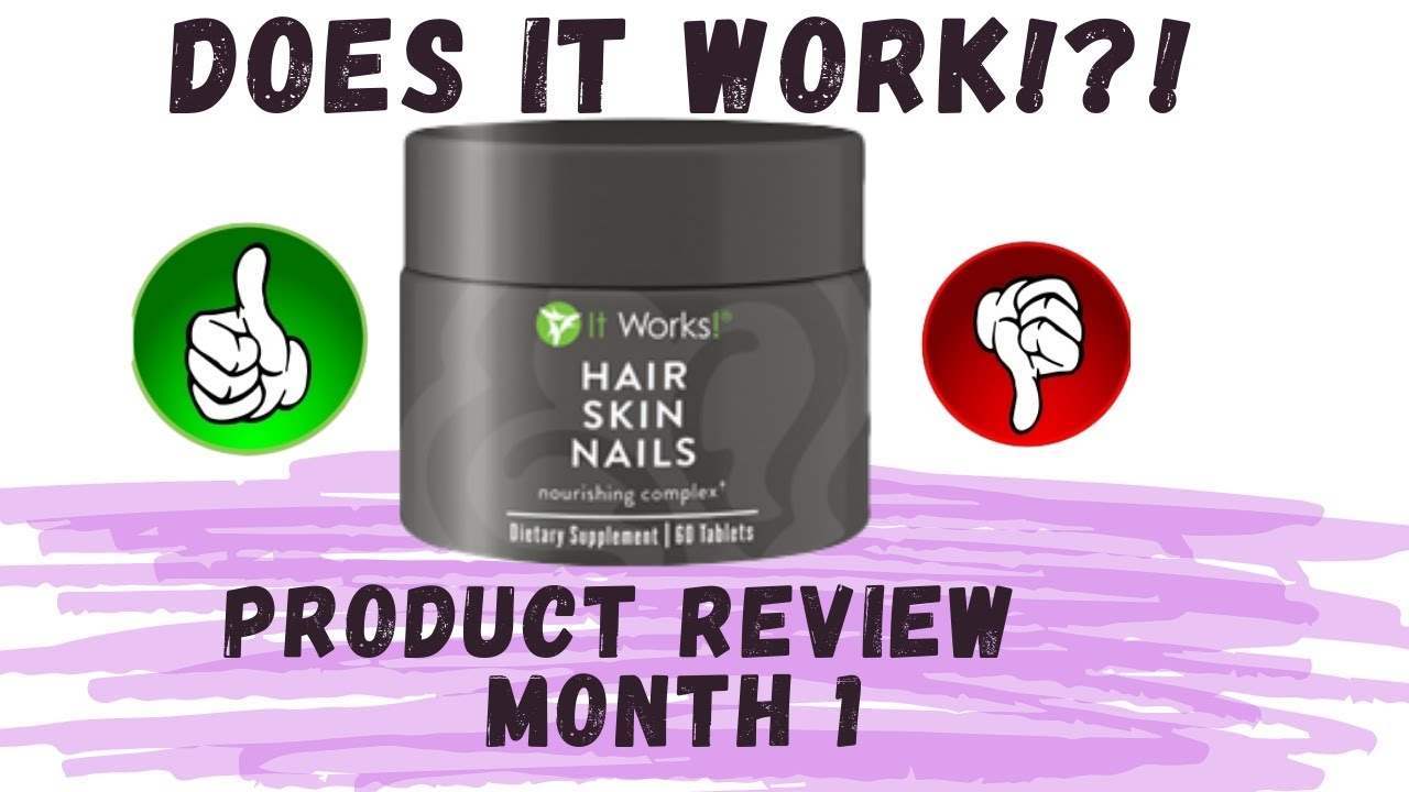 ItWorks! Oh Really?!? (It Works Hair Skin Nails Review) | Kia Rene ...