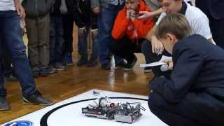 Соревнования роботов по сумо