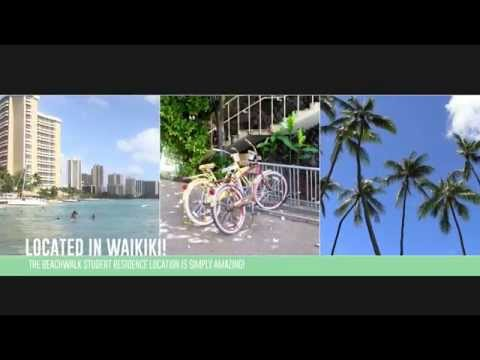 The Beachwalk Student Residence location is simply amazing. | Hawaii Accommodation