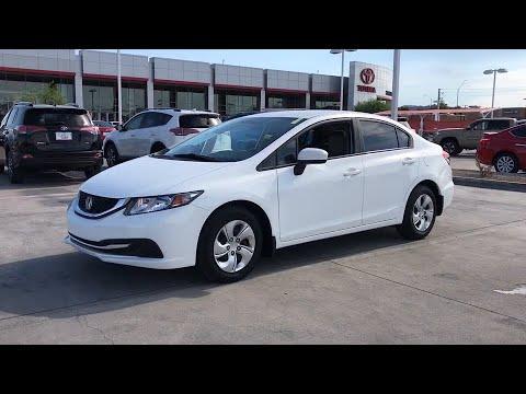 2014 Honda Civic Phoenix, Peoria, Scottsdale, Glendale, Avondale, AZ 49335A from YouTube · Duration:  2 minutes 7 seconds