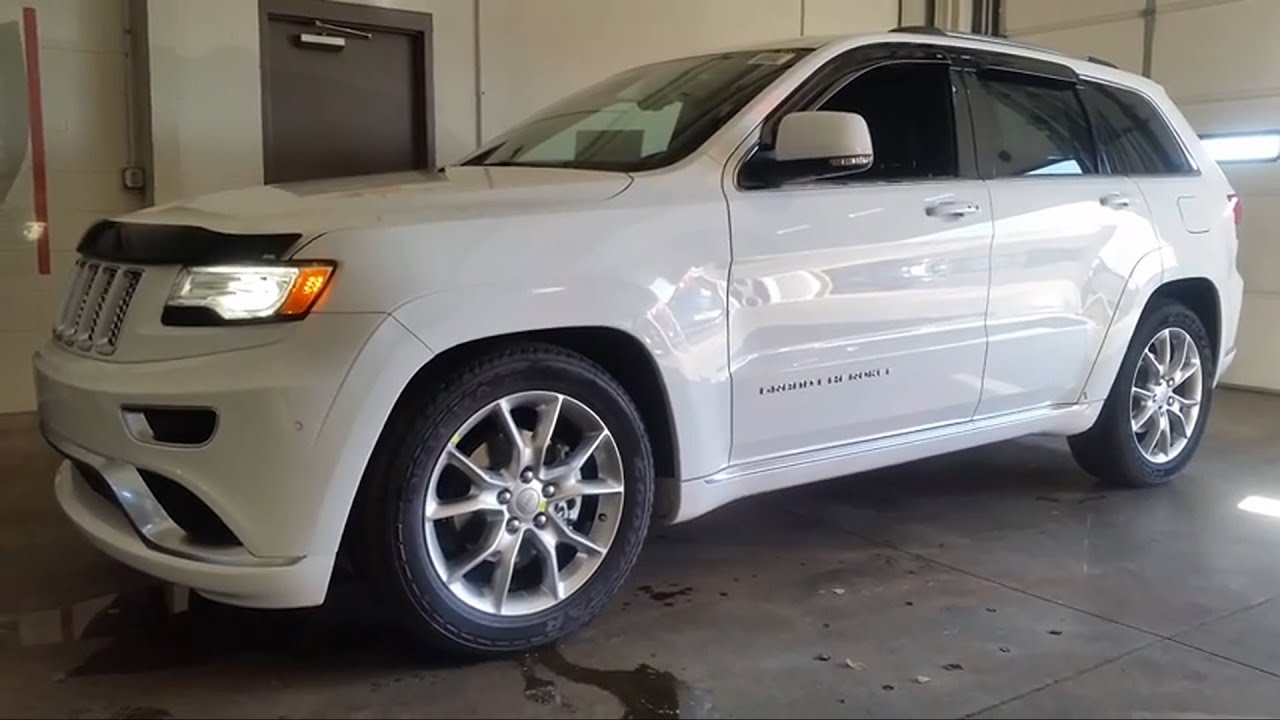 2015 jeep grand cherokee summit edition review youtube. Black Bedroom Furniture Sets. Home Design Ideas