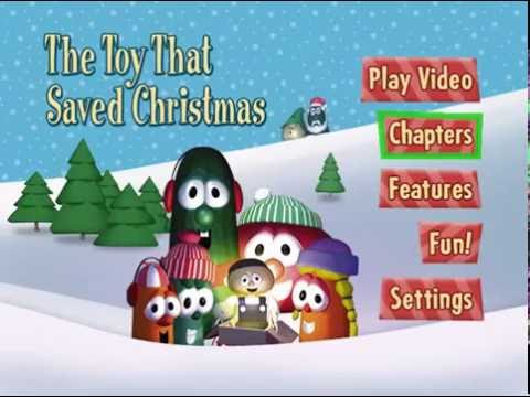 VeggieTales- The Toy That Saved Christmas Menu Walkthrough - YouTube
