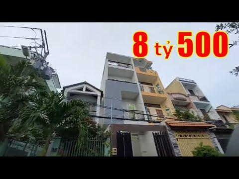 Livestream Bán Nhà Mặt Tiền Quận 6, Khu Cư Xá Phú Lâm D Quận 6. DT 3,85x16m Đúc 3,5 Tấm
