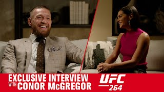 UFC 264: Conor McGregor Interview With Megan Olivi Ahead of Poirier Trilogy Fight