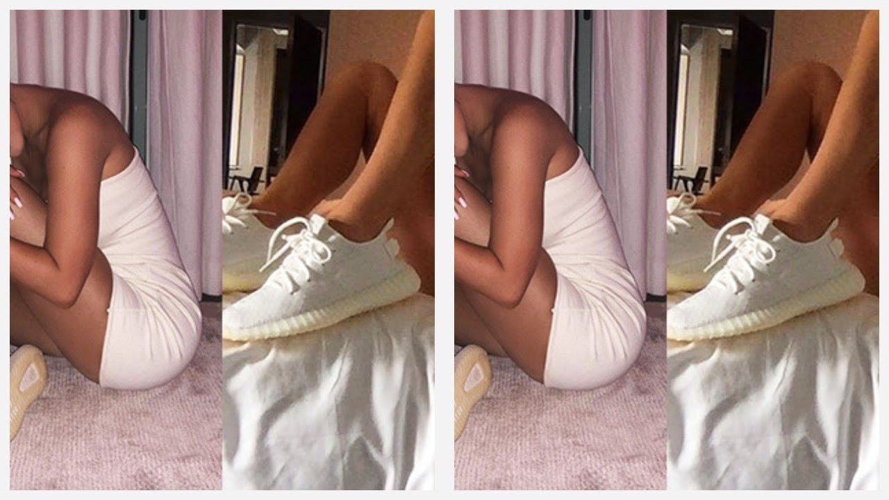 2e28e76c2116 Kylie Jenner   Kendall Jenner Show Off New Yeezys In Skimpy