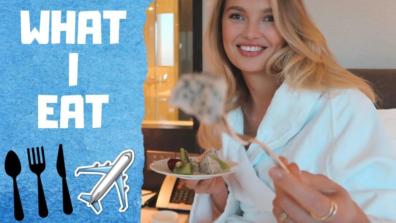 What I Eat (Healthy Travel Snacks) - Romee Strijd VLOG