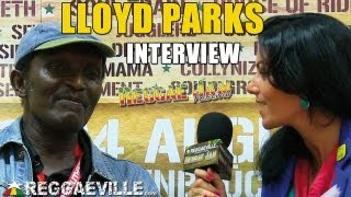 Interview with Lloyd Parks @ Reggae Jam 8/3/2013
